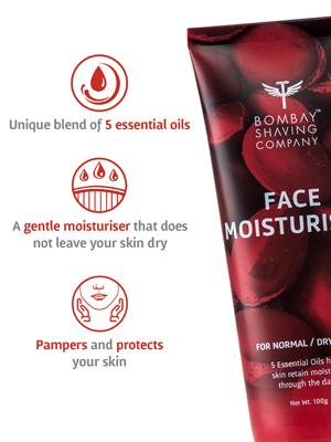 bombay shaving company face moisturiser