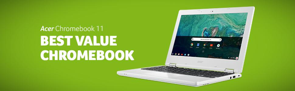 Amazon com: Acer Chromebook 11, Celeron N3060, 11 6