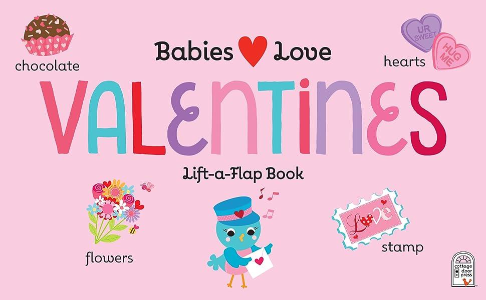 valentine's gift board book baby toddler first keepsake