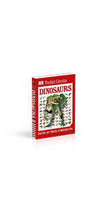 "Front cover for ""Pocket Genius: Dinosaurs"""