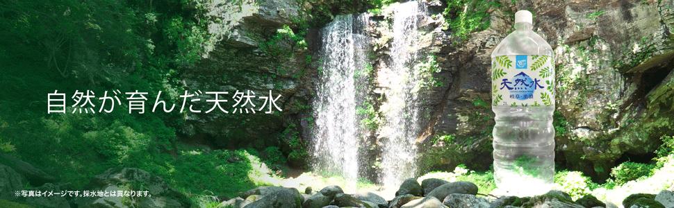 [Amazonブランド] Happy Belly 岐阜・美濃 天然水 2Lx9本