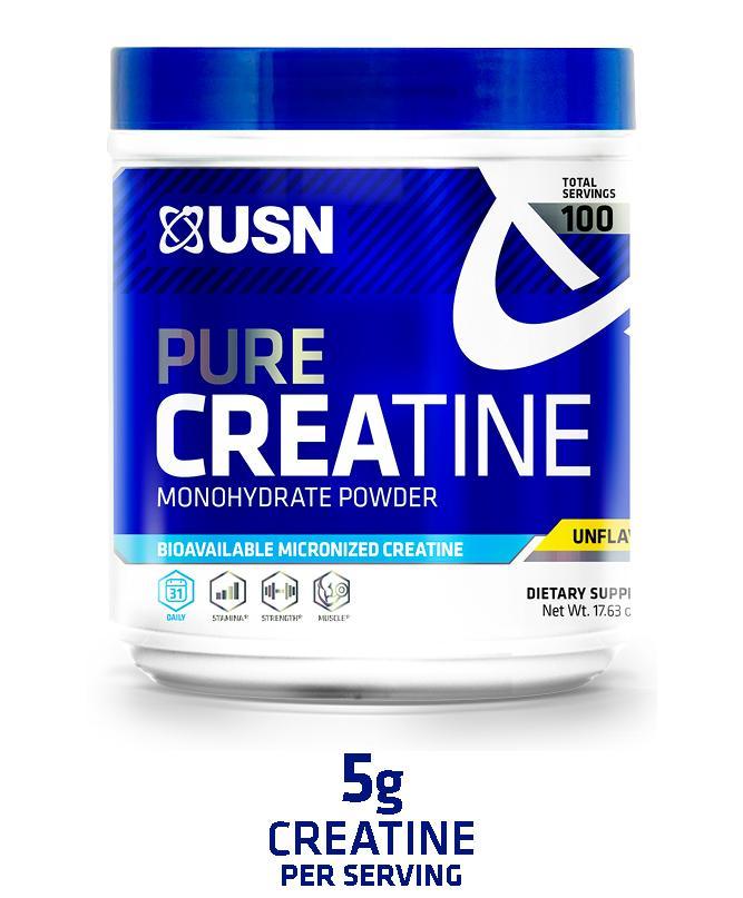 Amazon.com: USN Pure Creatine Monohydrate Powder, 500 Grams: Health & Personal Care