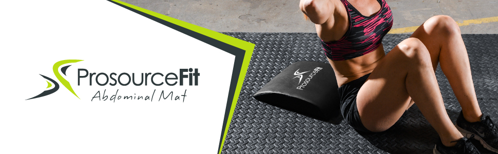 Fitness, Running & Yoga Sporting Goods Prosourcefit Abdominal Ab Mat 15 X 12 High Density Core Abmat For Crossfit Grey