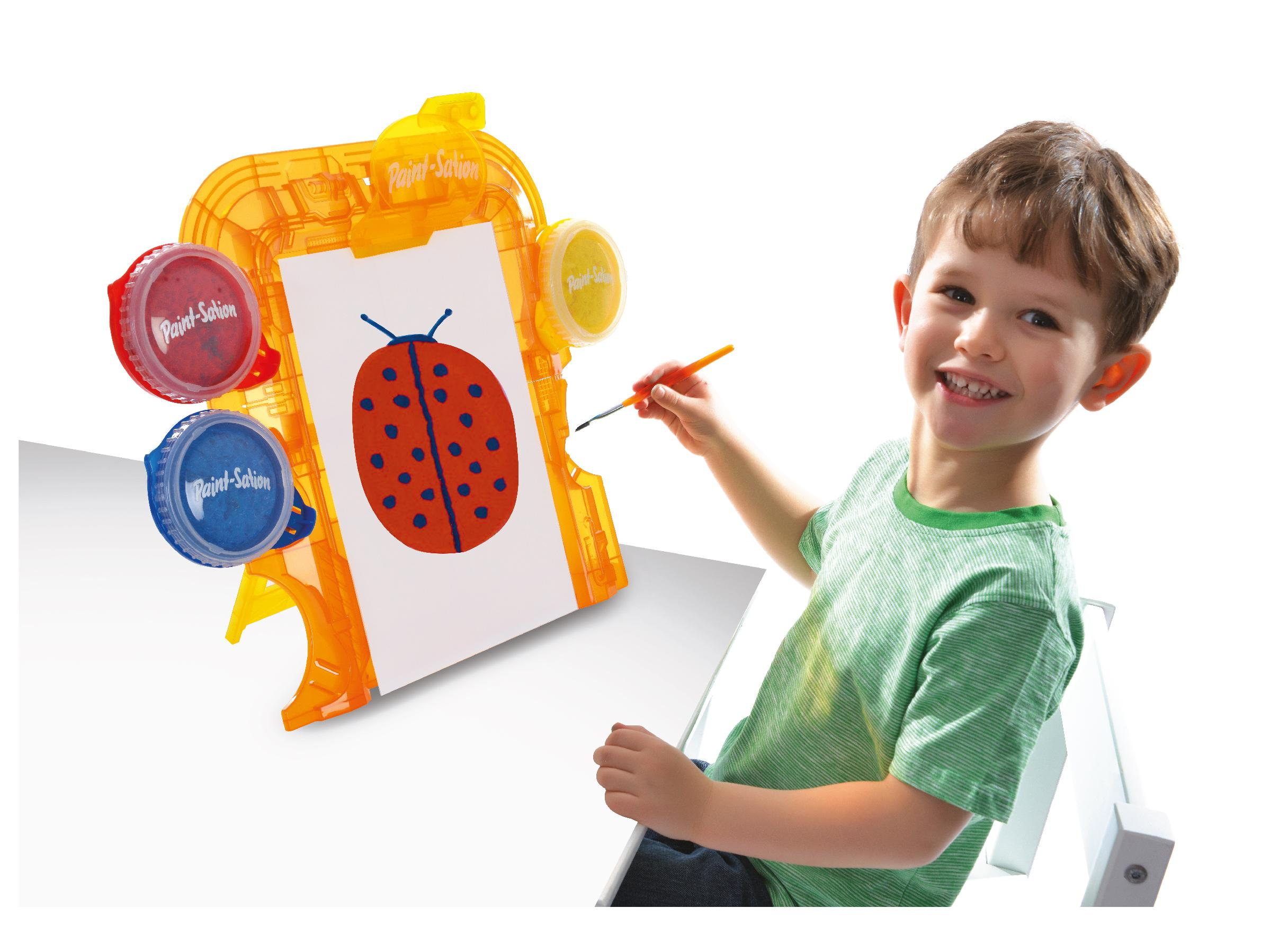 Toys For Painting : Paint sation mess free kids easel amazon