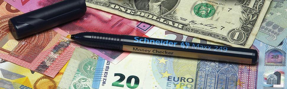 Schneider Maxx 248 Wäsche-// Textilmarker zum permanenten Beschriften von