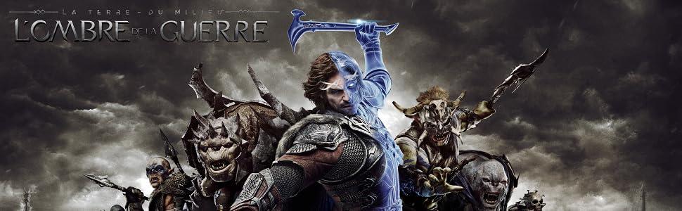 terre du milieu;seigneur des anneaux;jeu vidéo;mordor;orque;Xbox;playstati;ombre;guerre;sauron;2017;