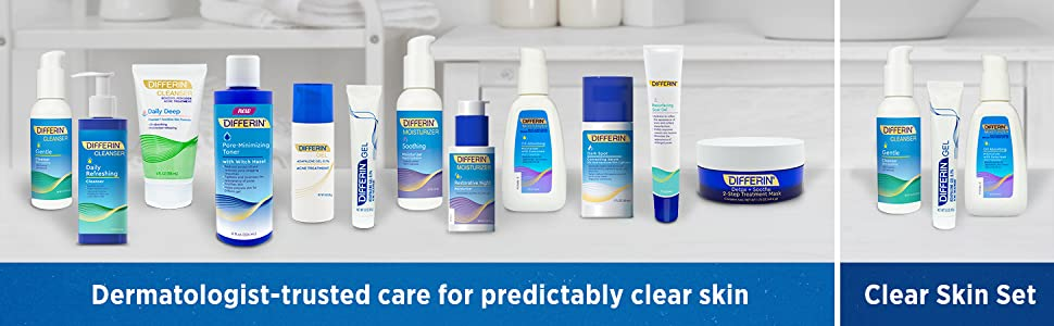 Discover all the different Differin products available
