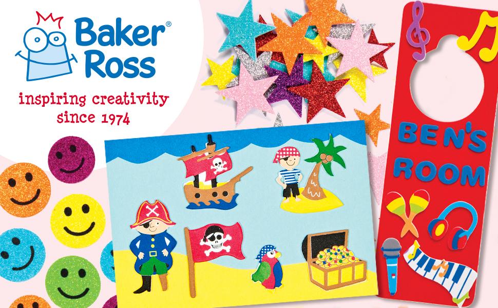 Baker Ross Inspiring Creativity Since 1974