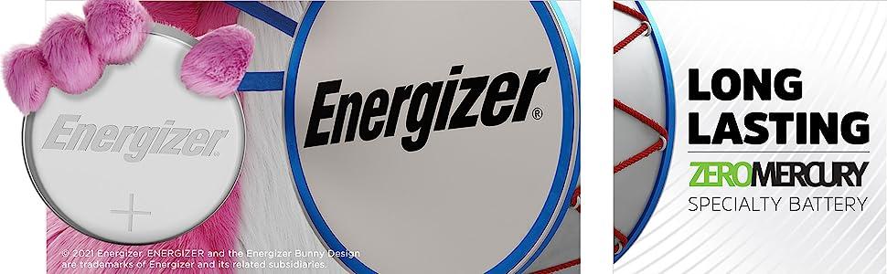 Long lasting. zero mercury. specialty battery
