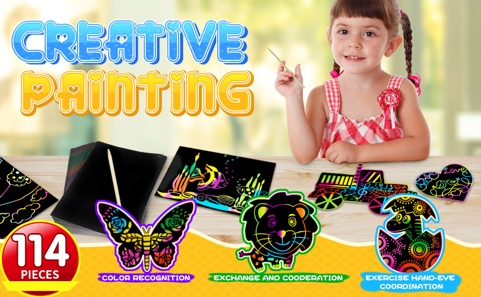 Scratch Art for Kids