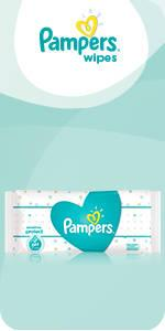 Pampers Complete Clean Baby Wipes Baby Fresh Scent 64