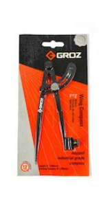 GROZ 24-inch Steel Rule   Stainless Steel   Imperial amp; Metric Graduations