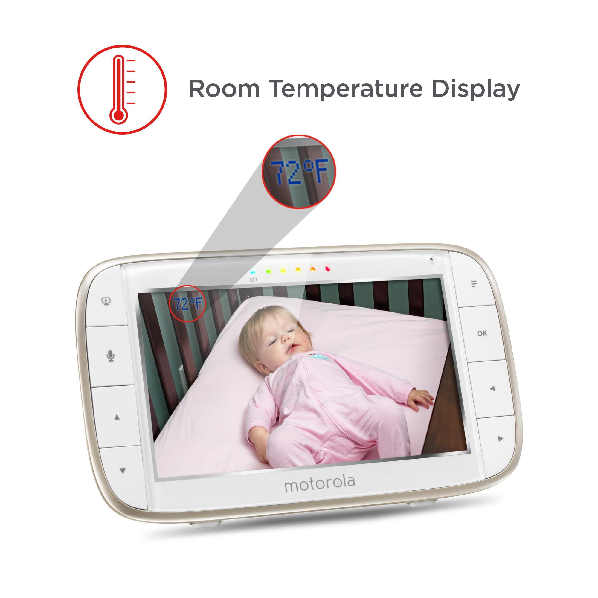 new motorola video baby monitor wi fi remote access camera summer security room ebay. Black Bedroom Furniture Sets. Home Design Ideas