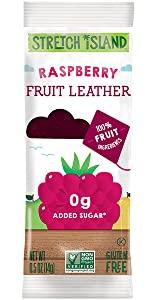 rapsberry fruit leather