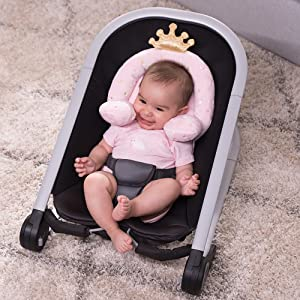 princess collection, head and neck support, queen, minky, soft, head support, round heads