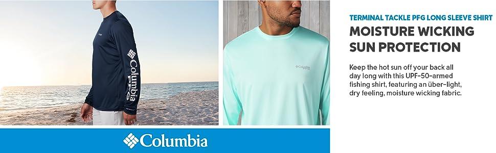Columbia Mens Terminal Tackle PFG Long Sleeve Shirt
