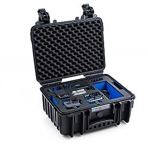 B W Outdoor Case Hartschalenkoffer Typ 3000 Inlay Für Kamera