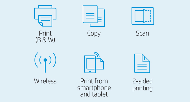 printing scanning copying mono black and white mobile phone 802.11