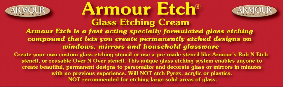 Amazon Armour Etch Cream 10 Ounce Arts Crafts Sewing