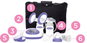 Lansinoh Signature Pro Double Electric Breast Pump Breast Pumps extractor de leche Lanolin