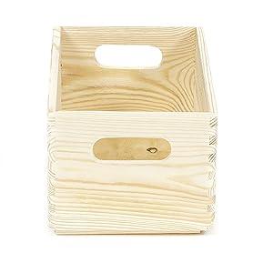 boîte de rangement, boîte en bois, boîte à peindre