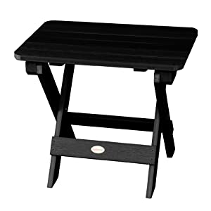 table, outdoor, portable, folds, easy carry, small, plastic, furniture, side table, coffee table
