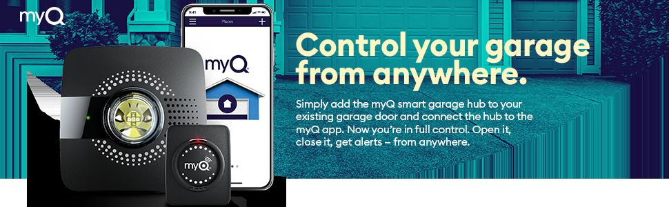 Myq Smart Garage Door Opener Chamberlain Myq G0301