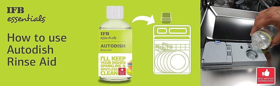 IFB Autodish Rinse Aid Ultraclean