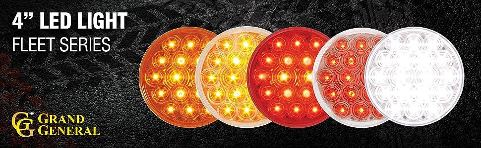 """4"""" LED Light Fleet Series"""