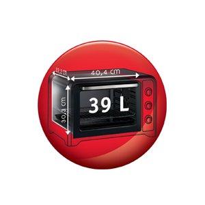 Moulinex Optimo OX484810 - Horno de Conveccción 39 L, 6 Modos de ...