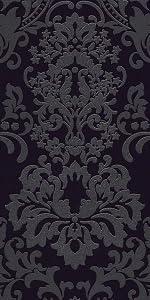 Livingwalls vliesbehang met glitter nieuwe Bude 2.0 Klara behang met ornamenten barok AS Creation