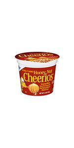 Honey Nut Cheerios Cereal Cup