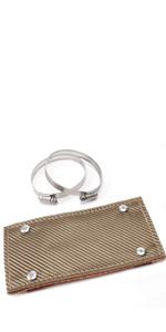 Titanium Pipe Shield