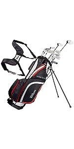 Wilson, Set completo para principiantes, 9 palos de golf con ...