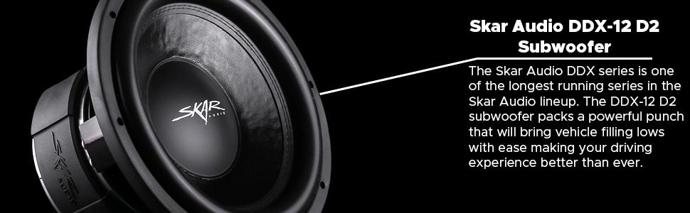 Superb Amazon Com Skar Audio Ddx 12 D2 12 1500 Watt Max Power Dual 2 Ohm Wiring Digital Resources Nekoutcompassionincorg