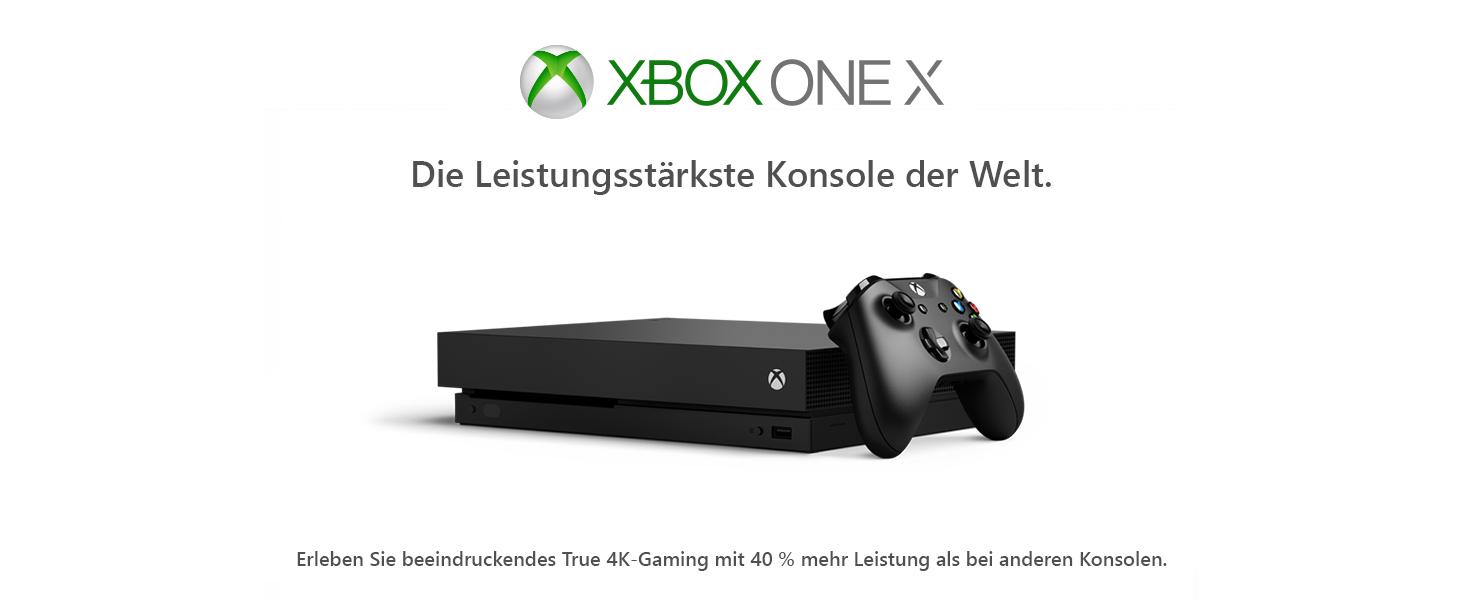 Microsoft Xbox One X 1tb Konsole Schwarz Standard Edition Amazon