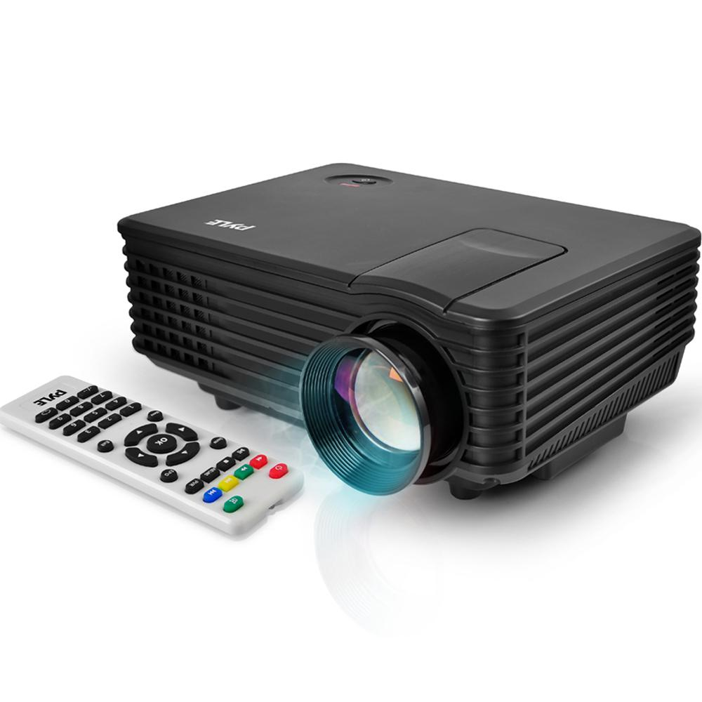 Pyle video projector 1080p full hd usb hdmi for Hd projector amazon