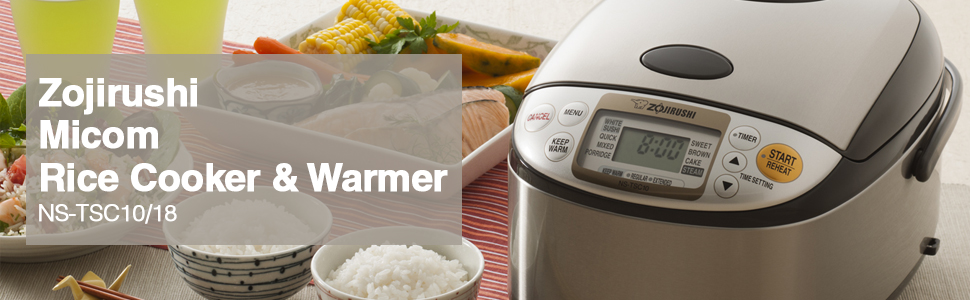 zojirushi, rice cooker, multicooker, rice, brown rice, white rice, sushi rice