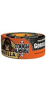 Gorilla Black Tough amp; Wide Duct Tape