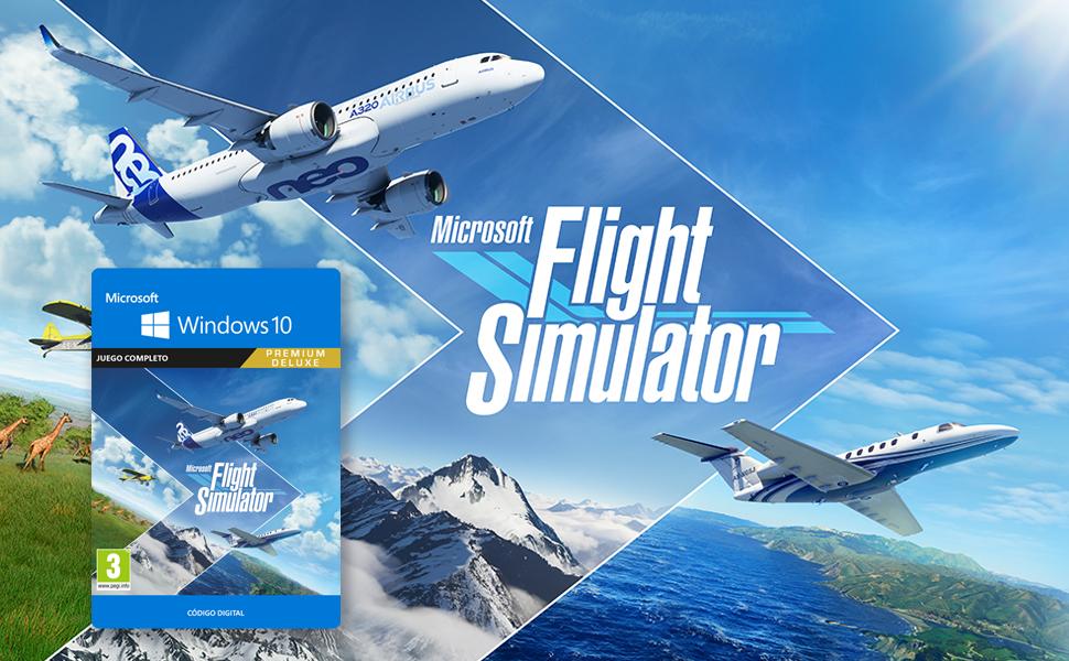 Monta tu pc gaming Microsoft Flight Simulator 2020
