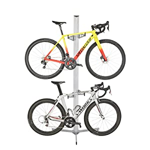 Upright bike storage