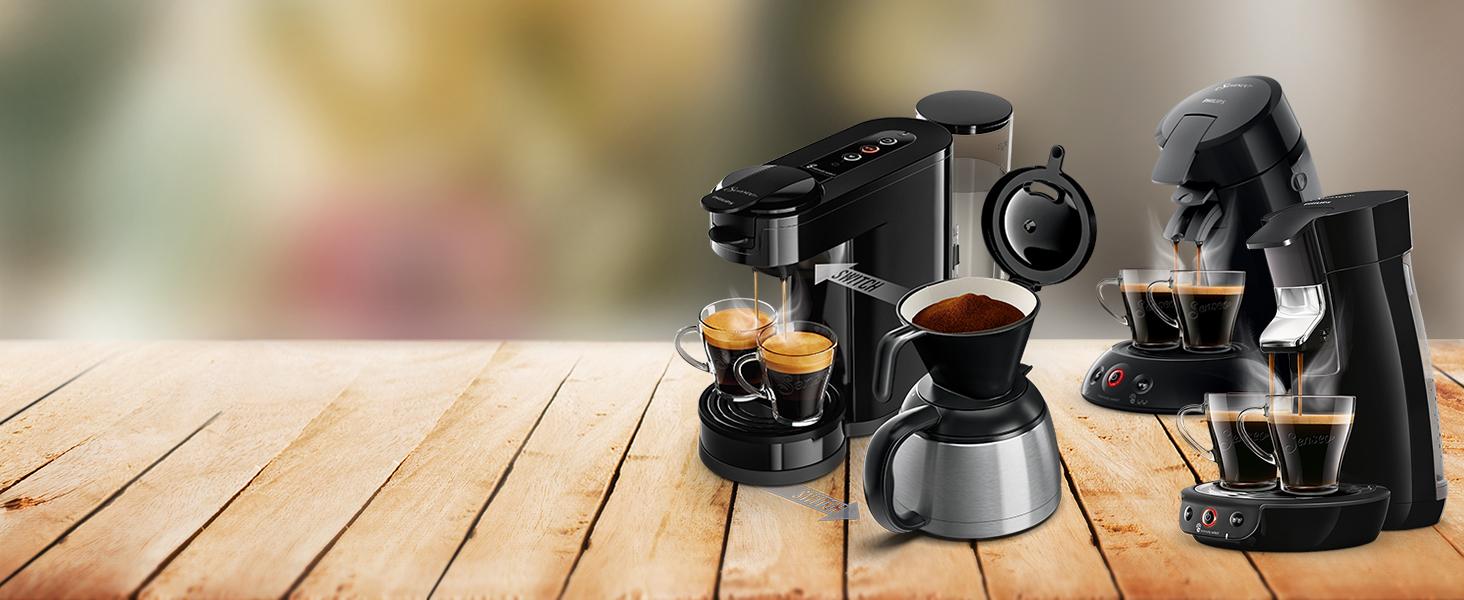 Senseo Pads Cappuccino, 80 Kaffeepads, 10er Pack, 10 x 8
