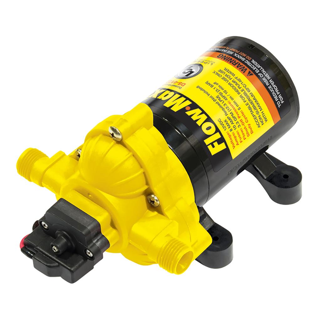 Flow Max DS-01230-D2 12V 3 3 GPM Water Pump