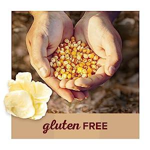 Orville Redenbacher's gluten free whole grain natural popcorn