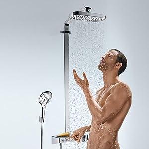 Hansgrohe 27114000 Raindance Select S 300 columna de ducha, 3 ...