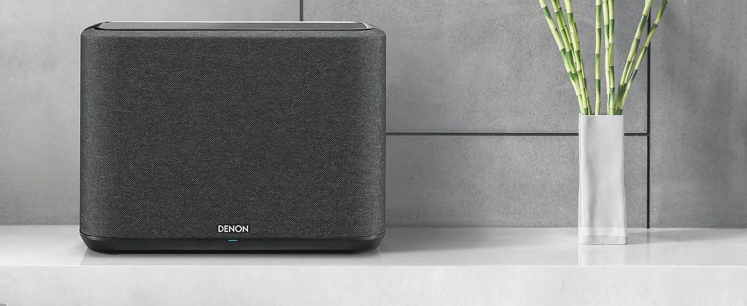 Denon Home 250 Multiroom Lautsprecher Hifi Lautsprecher Mit Heos Built In Wlan Bluetooth Usb Airplay 2 Hi Res Audio Alexa Kompatibel Schwarz Audio Hifi
