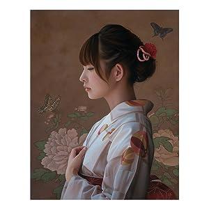 「薄桜」油彩 F6号