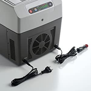 DOMETIC TropiCool TC 21FL Nevera Eléctrica Portátil, 20 l, mini nevera para coche, camión, barco y autocaravana, 12/24 V y 230 V