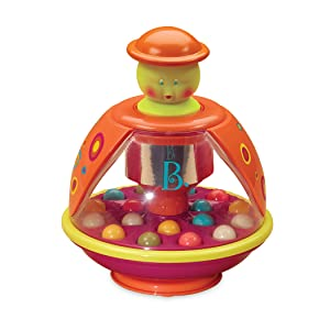 b baby toys you ball popper brand Battat Playskool ball popper busy toy small toddler kid bpa-free