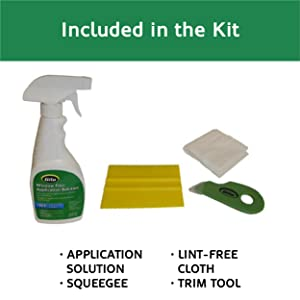 Everything you need to install window film